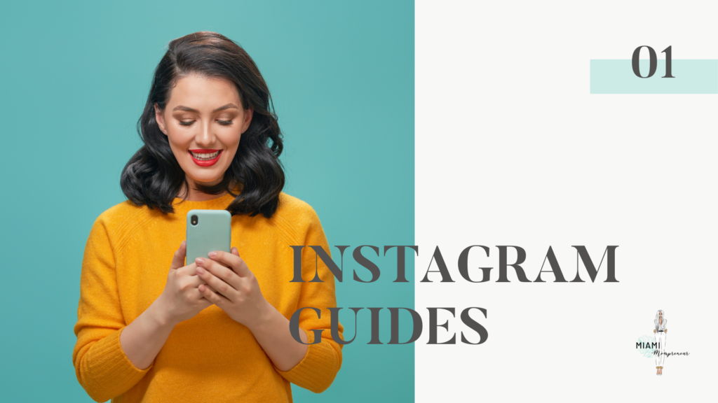 How to use and set up Instagram guides