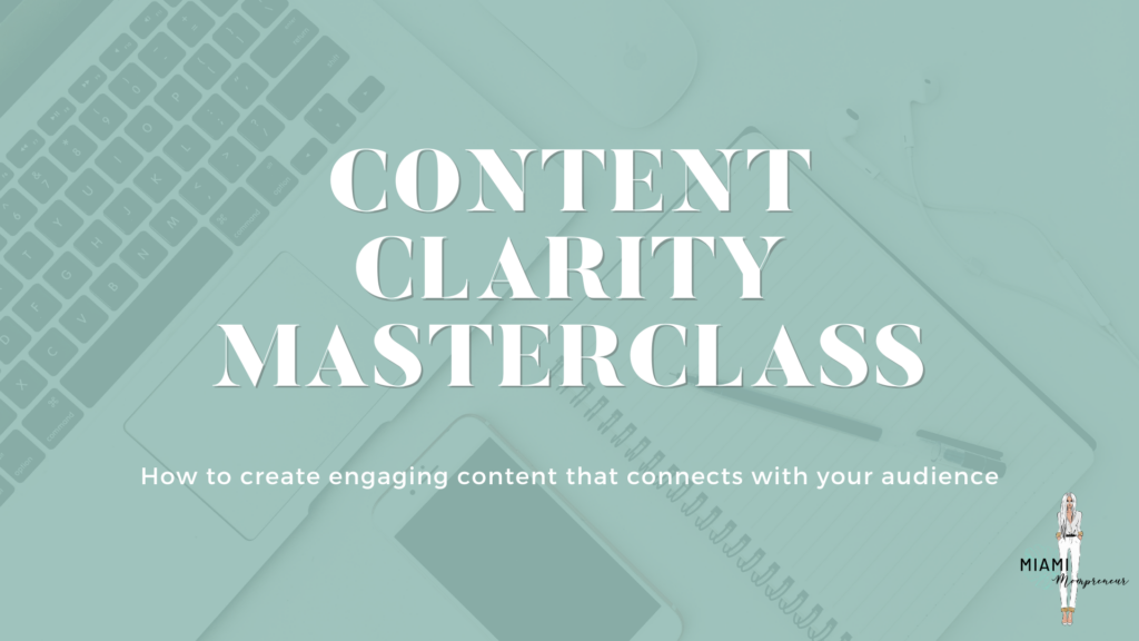 Content Clarity Masterclass FREE